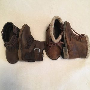 Shoes - Toddler Boots Bundle (Lot)